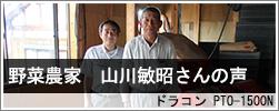 野菜農家 山川様インタビュー