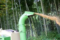 ブロア―型噴出口標準装備。向きも自由自在に変更可能。